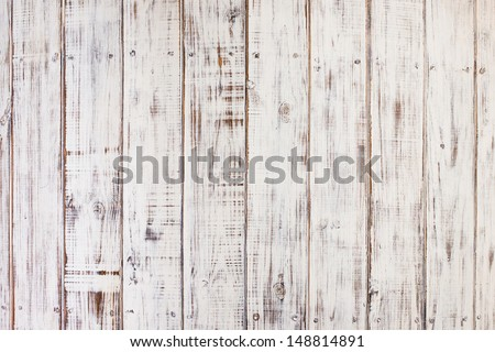 back metal frame with light column wood background - stock photo