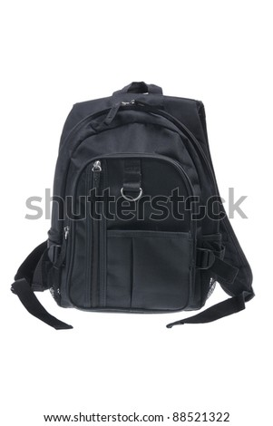 Back Pack on White Background