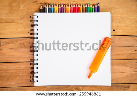 Back to school blank board for your design. - stock photo