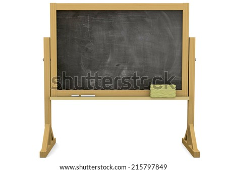 Back To School - 3D - stock photo