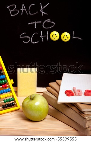 Back to school! Education concept! - stock photo