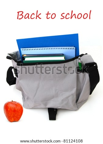 Back to school objects - stock photo