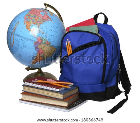 Back to School still life  - stock photo