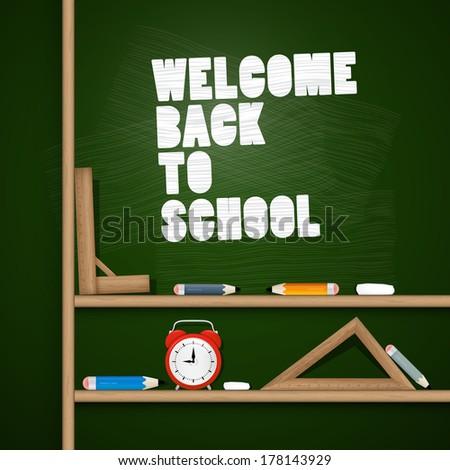 Back to school theme  - stock photo