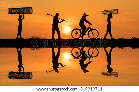 Back to work - stock photo