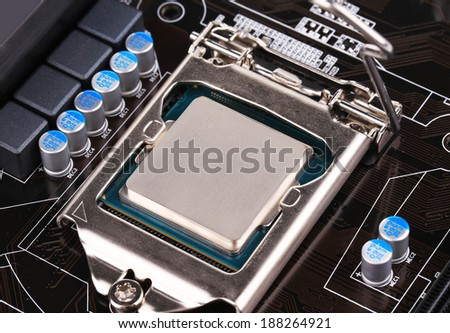 Back view of a DDR memory module. Whole background. - stock photo