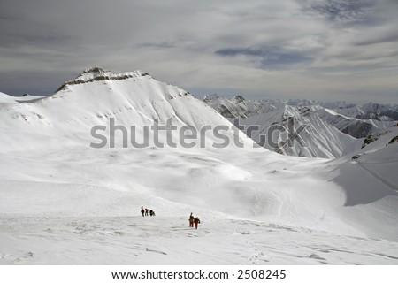 backcountry in Georgia - stock photo