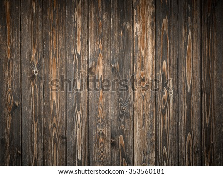Backdrop composed of wooden planks ruined by time and the elements.