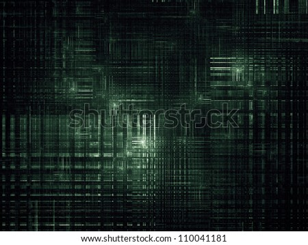 Backdrop design of industrial texture to provide supporting composition for illustrations on technology, science and computers