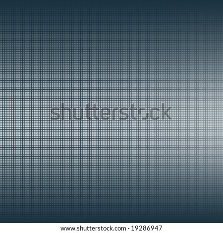backdrop with blue square vertical gradient grid - stock photo