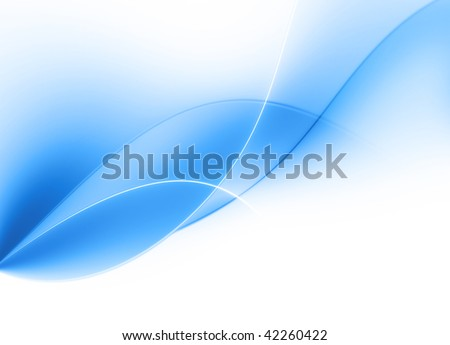 background abstract curves - stock photo