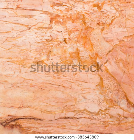 background and texture of bright smooth brown marble for decorative wall or floor