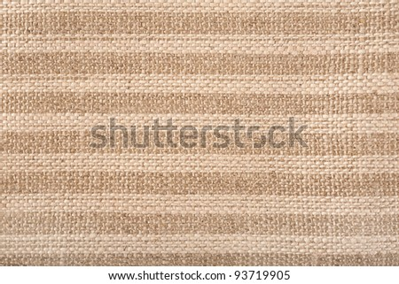 Background and texture of Jute canvas - stock photo