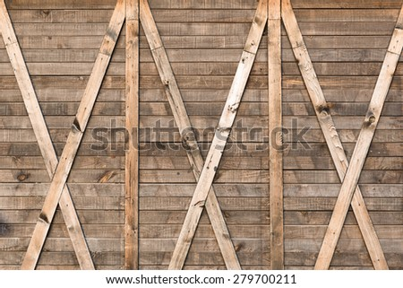 background and texture of  nature pattern detail on pine wood decorative old furniture wall surface - stock photo