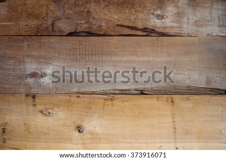 background and texture of old natural wooden planks, free space