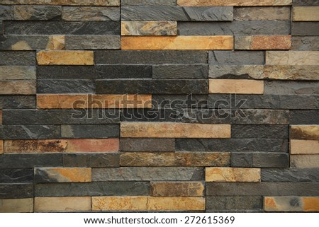 Background and texture with brick sand stone