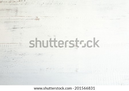 Background and white wood texture - stock photo