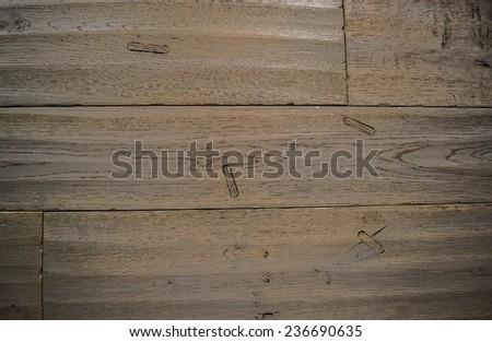 Background. Antique flooring grey. - stock photo