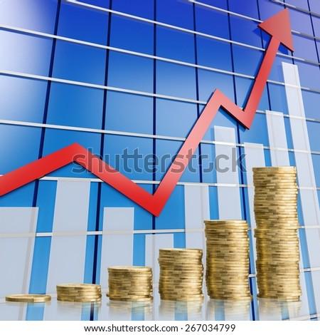 Background, banking, business. - stock photo