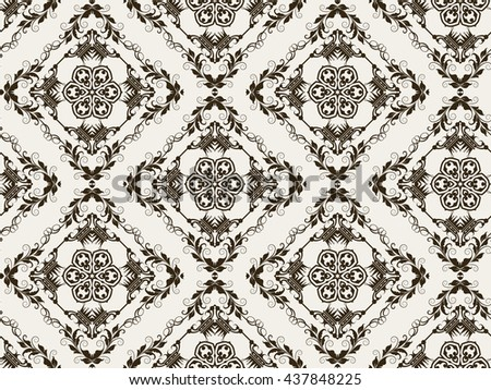 Background, black and white, pattern, vintage style, texture, victorian, baroque, gothic, modern wallpaper, graphic design
