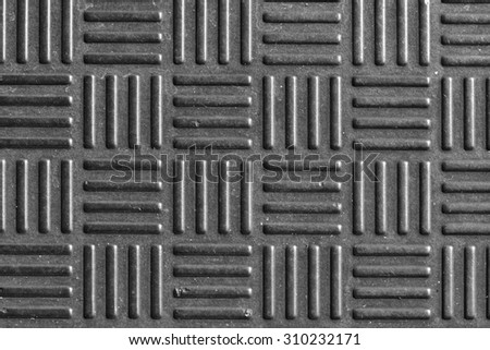 Background black rubber pattern with copy space - stock photo