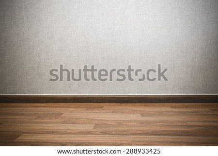 background, blank empty wall and floor in a gray color - stock photo