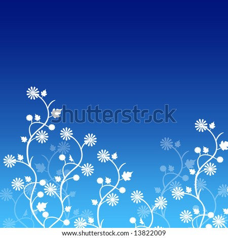 Background Blue 0124
