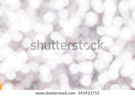 background bokeh of twinkling party lights. - stock photo