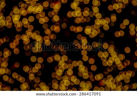 background bokeh wall abstract lights light design yellow color yellow gold