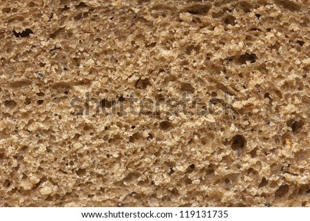 background bread. macro