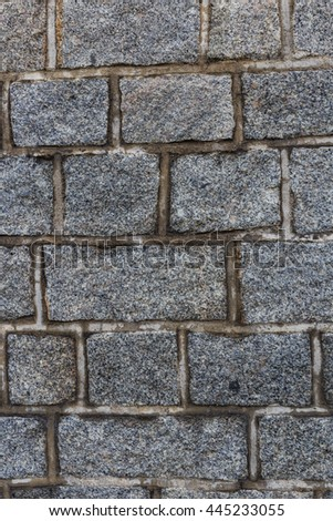 Background brick Beautiful patterned surfaces Suitable for use in a variety of formats.This background is nice for make object more pop by use this background. - stock photo