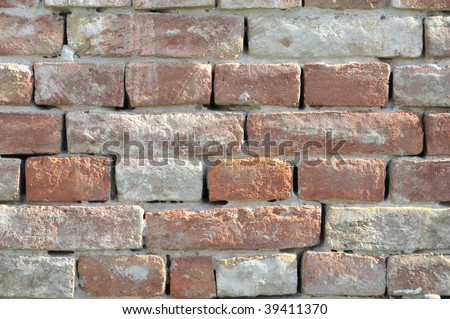 Background bricks and mortar