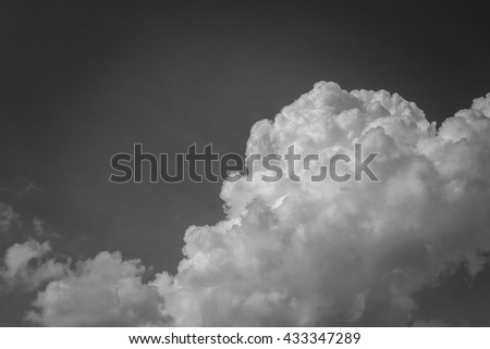 background bright blue sky with clouds