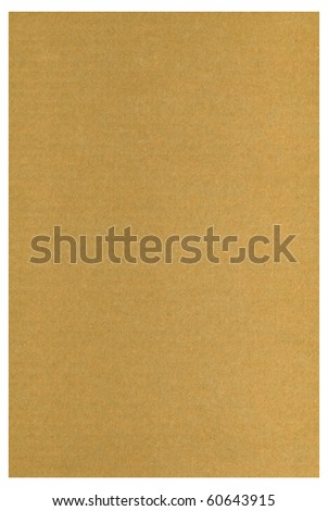 background  closeup of brown cardboard - stock photo
