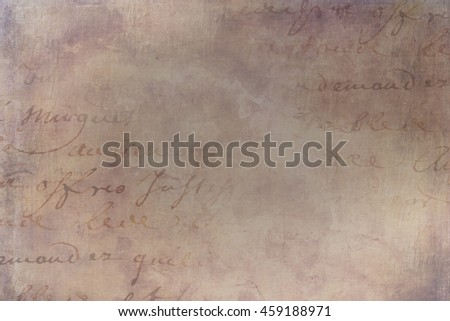 Background Collage of Textures Vintage Papers Paint and Antique Text