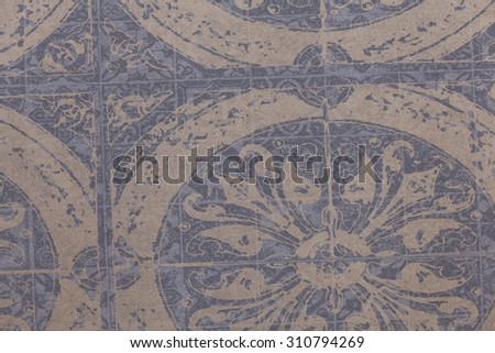 Background. Colored paper structured with printed pattern