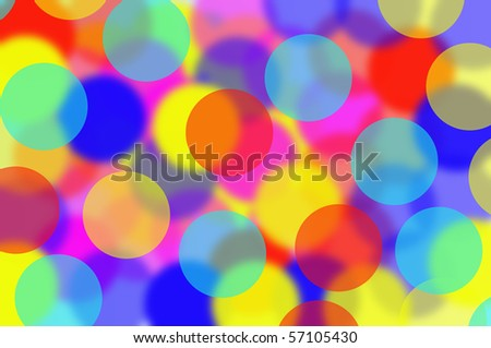 Background colorful bokeh