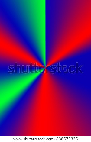 Background colorful with centric lines