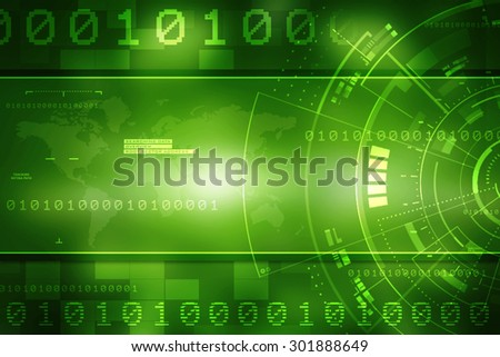 Background conceptual image of digital 3d icons