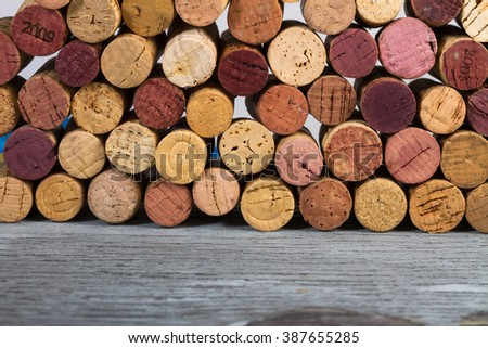 Background Corks Used