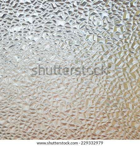 Background corrugated glass  - stock photo