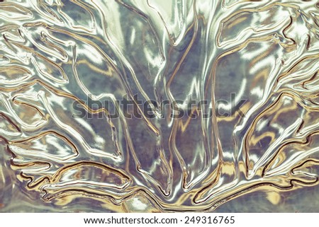Background corrugated glass tree pattern   - stock photo