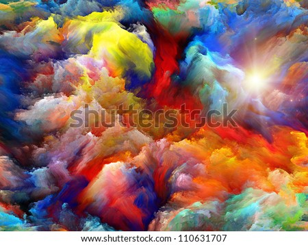 Background design dreamy forms colors on stock - Dreaming of the color white ...