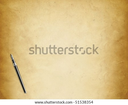 Background Design With a Pen