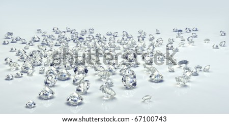 Background diamond. Diamond jewel isolated - stock photo