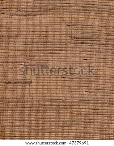 Background. Dry straw - stock photo
