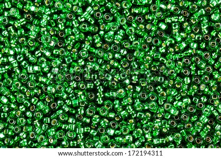 Background elements of the beads. - stock photo