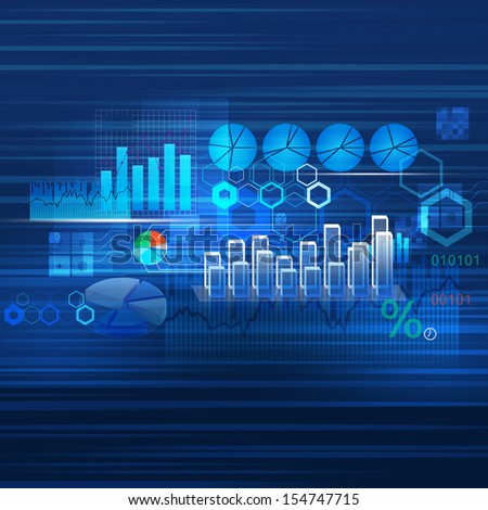 Background for business - stock photo