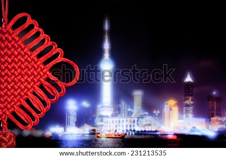 Background for Chinese New Year - stock photo