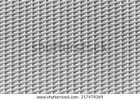 Background for creativity and design. Woven rattan with natural patterns, vintage wall. - stock photo